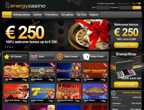 Energy Casino Login